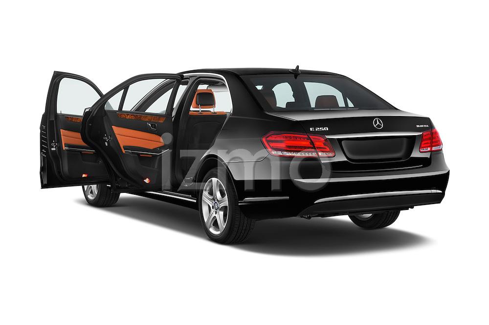 Car images close up view of a 2015 Mercedes Benz E Class Elegance 4 Door Sedan doors
