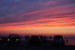 People watching the sunset, Rock Harbor, Cape Cod, MA