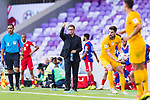 Jordan Head Coach Vital Borkelmans reacts during the AFC Asian Cup UAE 2019 Group B match between Australia (AUS) and Jordan (JOR) at Hazza Bin Zayed Stadium on 06 January 2019 in Al Ain, United Arab Emirates. Photo by Marcio Rodrigo Machado / Power Sport Images