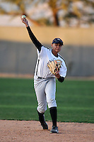 January 16, 2010:  Luis Torres (Ceiba, PR) of the Baseball Factory Atlantic Team during the 2010 Under Armour Pre-Season All-America Tournament at Kino Sports Complex in Tucson, AZ.  Photo By Mike Janes/Four Seam Images