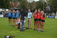 AATSEN: WEIDUM: 25-08-2021, Dames PC, Nienke Sijbrandij, Manon Scheepstra en Marrit Zeinstra, ©foto Martin de Jong