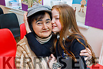 Rachel Galvin giving her grandmother Catherine Bradley a big hug at the Grandparents Day in  Scoil Nuachabháil on Friday.