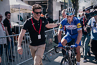 Julian Alaphilippe (FRA/Quick Step Floors) wins the 82nd Flèche Wallonne 2018 (1.UWT)<br /> <br /> 1 Day Race: Seraing - Huy (198km)