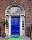 Aug. 29, 2012; Door of O'Connell House, Dublin, Ireland..Photo by Matt Cashore/University of Notre Dame