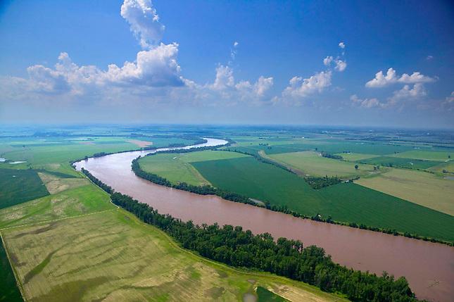 Farmland along Missouri River