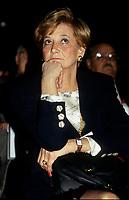 Andree Simard la conjointe du Premier ministre Robert Bourassa, vers 1991<br /> <br /> PHOTO : © Agence Quebec Presse