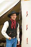 Cowboy Jeremy Mick  Jordan Valley Big Loop Rodeo..