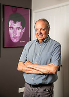 BNPS.co.uk (01202 558833)<br /> Pic: MaxWillcock/BNPS<br /> <br /> Pictured: Todd Slaughter.<br /> <br /> One of the world's most renowned Elvis Presley fan clubs is expected to sell for a staggering £100,000.<br /> <br /> The Official Elvis Presley Fan Club of Great Britain was established in London in 1957 and has a membership of almost 5,000 people over 60 years on.<br /> <br /> The current president, Todd Slaughter, bought it in 1967 after working as a journalist on music magazines.