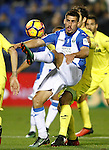 CD Leganes' Gabriel Pires during La Liga match. December 3,2016. (ALTERPHOTOS/Acero)