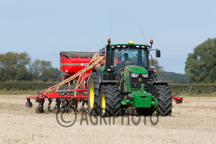 Drilling oilseed rape<br /> Picture Tim Scrivener 07850 303986<br /> ….covering agriculture in the UK….