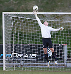 Liam Kelly saves the day for Rangers as he tips a netbound shot over the bar