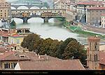Ponte Vecchio 1345 Arno River Vasari Corridor Florence