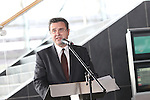 Huw Lewis<br /> Wales Olympic & Paralympic athletes homecoming <br /> celebration..14.09.12.©Steve Pope