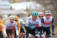 2021 Cycling Tour of the Alps Stage 1 Bressanone, Innsbruck, Italy, Austria Apr 19th; The pack in Brennero at the Brenner Pass