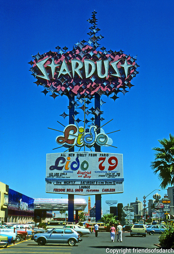Las Vegas: Stardust sign. Photo '79.