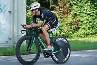 Hanna Hafenrichter (Nicole Best Coaching) auf dem Rad - Mörfelden-Walldorf 18.07.2021: MoeWathlon