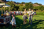 Wedding ceremony at Avila Valley Barn