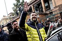 20190125 Salvini consegna al Comune una villa sequestrata