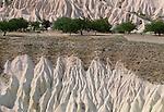 Eroded hills, Cappadocia, Turkey