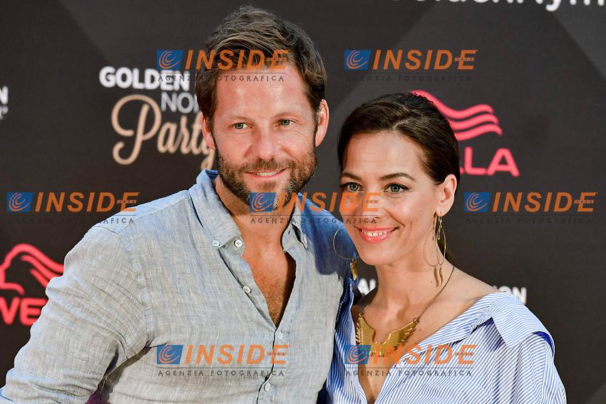 Jamie Bamber (Fearless) et sa femme Kerry Norton<br /> Monaco - 20/06/2017<br /> 57 festival TV Monte Carlo <br /> Foto Norbert Scanella / Panoramic / Insidefoto