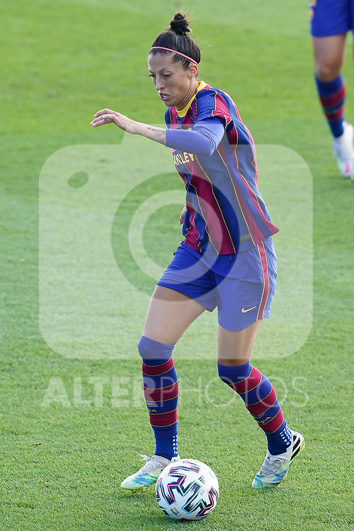 First official match and first classic in the history of women's Real Madrid.<br /> FC Barcelona's Jennifer Hermoso during Spanish Female League match. October 4,2020. (ALTERPHOTOS/Acero)