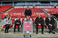 Fleetwood Town match sponsors during the Sky Bet League 1 match between Fleetwood Town and Burton Albion at Highbury Stadium, Fleetwood, England on 15 December 2018. Photo by Stephen Buckley / PRiME Media Images.