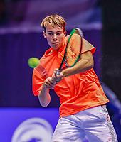 Rotterdam, Netherlands, December 15, 2017, Topsportcentrum, Ned. Loterij NK Tennis, Ryan Nijboer (NED) <br /> Photo: Tennisimages/Henk Koster