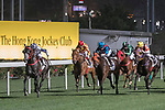 Runners in action during the Matheson Handicap on 29 March 2017, at Happy Valley Racecourse  in Hong Kong, China. Photo by Chris Wong / Power Sport Images