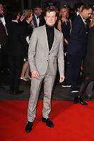 """Ed Speelers<br /> arriving for the London Film Festival 2017 screening of """"Breathe"""" at the Odeon Leicester Square, London<br /> <br /> <br /> ©Ash Knotek  D3318  04/10/2017"""