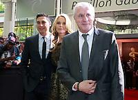 CHRISTOPHE JOSSE, MARIELLA TIEMANN & LUIS FERNANDEZ - 25eme Ceremonie des Trophees UNFP au Pavillon Gabriel