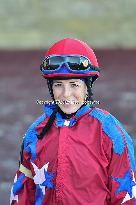 April 18, 2020: Jockies for the Apple Blossom Handicap at Oaklawn Racing Casino Resort in Hot Springs, Arkansas on April 18, 2020. Ted McClenning/Eclipse Sportswire/CSM