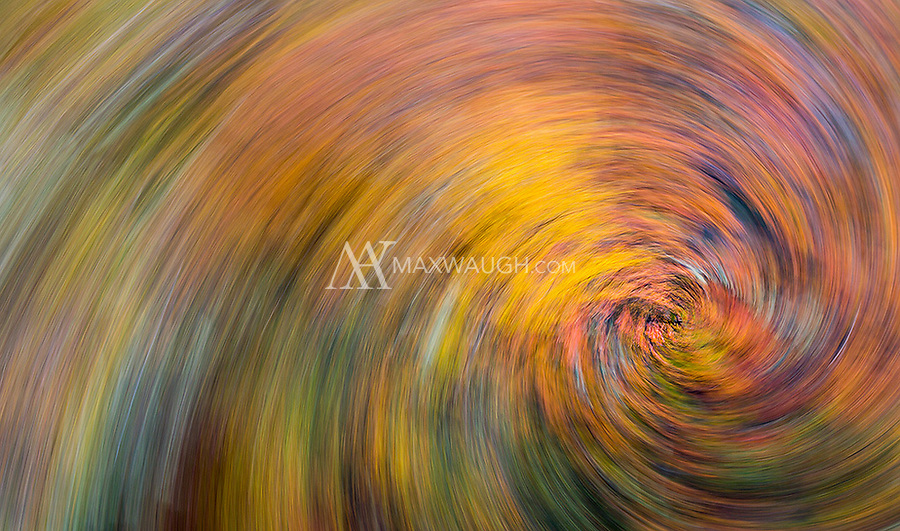 We were fortunate the spend time in Torres del Paine when the autumn colors were still in peak form.  This is a long exposure spin, with the effect created in-camera while taking the shot (rather than in post-processing).