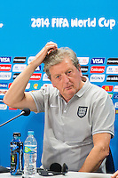 England manager Roy Hodgson scratches his head