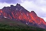 Throne Mountain, Tonquin Valley, Jasper National Park, Alberta, Canada
