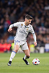 Marco Asensio Willemsen of Real Madrid in action during their Copa del Rey 2016-17 Quarter-final match between Real Madrid and Celta de Vigo at the Santiago Bernabéu Stadium on 18 January 2017 in Madrid, Spain. Photo by Diego Gonzalez Souto / Power Sport Images