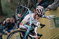 Katie Compton (USA/KFC Racing p/b Trek/Panache)<br /> <br /> Women Elite race<br /> <br /> UCI cyclocross World Cup Koksijde / Belgium 2017