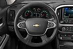 Car pictures of steering wheel view of a 2021 Chevrolet Colorado LT 4 Door Pick-up Steering Wheel