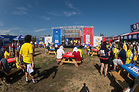 Photo before the match Colombia vs Paraguay, Corresponding Group -A- America Cup Centenary 2016, at Rose Bowl Stadium,<br /> <br /> Foto previo al partido Colombia vs Paraguay, Correspondiante al Grupo -A-  de la Copa America Centenario USA 2016 en el Estadio Rose Bowl, en la foto: Sponsors<br /> <br /> <br /> 07/06/2016/MEXSPORT/Jorge Martinez.