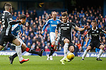 Harry Forrester scores the opening goal for Rangers