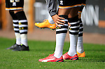 Port Vale 3 Doncaster Rovers 0, 22/08/2015. League One, Vale Park. Port Vale substitutes with coloured boots. Photo by Paul Thompson.