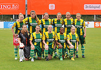 KNVB Beker Finale : ADO Den Haag - FC Twente : Team ADO Den Haag<br /> foto DAVID CATRY / Nikonpro.be