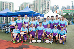 Referees' team during Swire Touch Tournament on 03 September 2016 in King's Park Sports Ground, Hong Kong, China. Photo by Marcio Machado / Power Sport Images