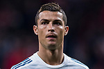 Cristiano Ronaldo of Real Madrid looks on prior to the La Liga 2017-18 match between Atletico de Madrid and Real Madrid at Wanda Metropolitano  on November 18 2017 in Madrid, Spain. Photo by Diego Gonzalez / Power Sport Images
