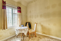BNPS.co.uk (01202 558833)<br /> Pic: PropertyPublicity/BNPS<br /> <br /> Pictured: It's a one bedroom home<br /> <br /> Loco-cation, loco-cation, loco-cation..<br /> <br /> This quirky property that is up for sale is all about its loco-cation - as it sits on a railway crossing right next to the train tracks.<br /> <br /> The Grade II listed cottage was built in 1850 to house the gatekeeper whose job it was to close the gates at the road crossing whenever a train was due.<br /> <br /> The gates, in the village of Stone, Staffs, were automated many years ago.