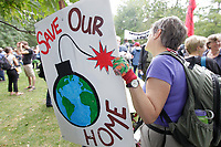 Marche pour le Climat, le 21 septembre 2014<br /> <br /> Photo : Agence Quebec Presse.