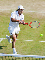 25-6-09, England, London, Wimbledon, Fabrice Santoro