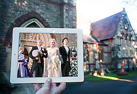 Pictured: A church in Bristol where scenes of hit tv series Sherlock was filmed.<br />