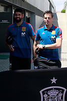 Spain's Cesar Azpilicueta (r) and Diego Costa after training session. May 31,2018.(ALTERPHOTOS/Acero) /NortePhoto.com