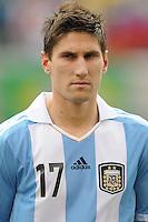 Argentina defender Federico Fernandez (17) The Argentina National Team defeated Brazil 4-3 at MetLife Stadium, Saturday July 9 , 2012.