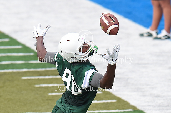 Tulane Fall Football 2015.